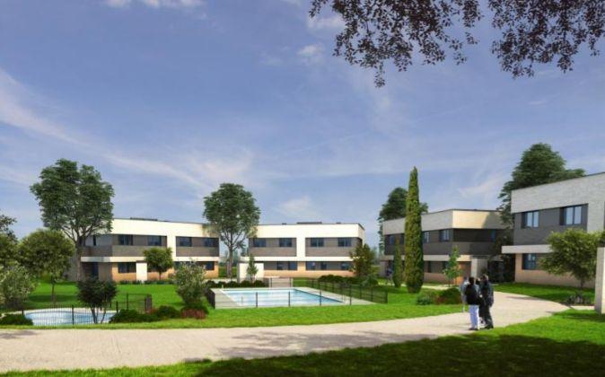 Imagen de uno de los proyectos residenciales de Stoneweg en España.