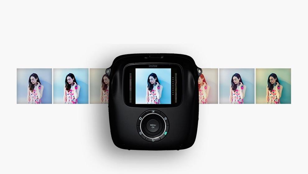 1a7b9360f6a3 Instax Square SQ10  la cámara instantánea de Fuji que permite editar ...