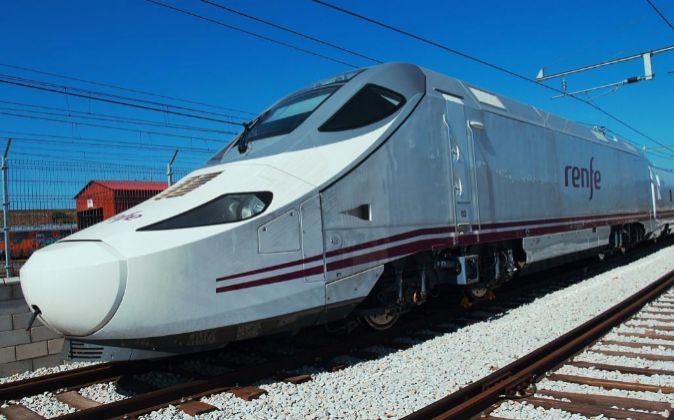 Tren AVE fabricado por Talgo y Bombardier.