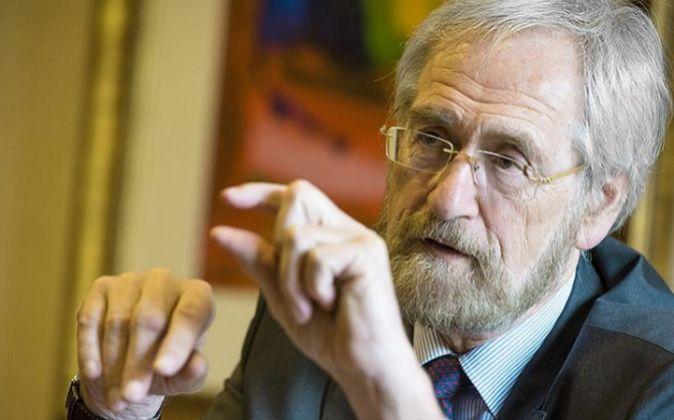 Peter Praet, economista jefe del BCE