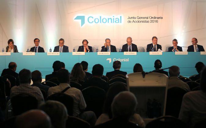 Junta de accionistas de Colonial de 2016