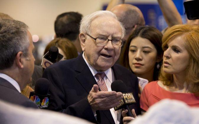 Warren Buffett, presidente de Berkshire Hathaway.