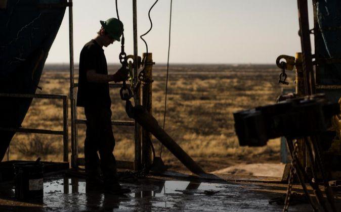 Imagen de instalaciones petrolíferas en EEUU