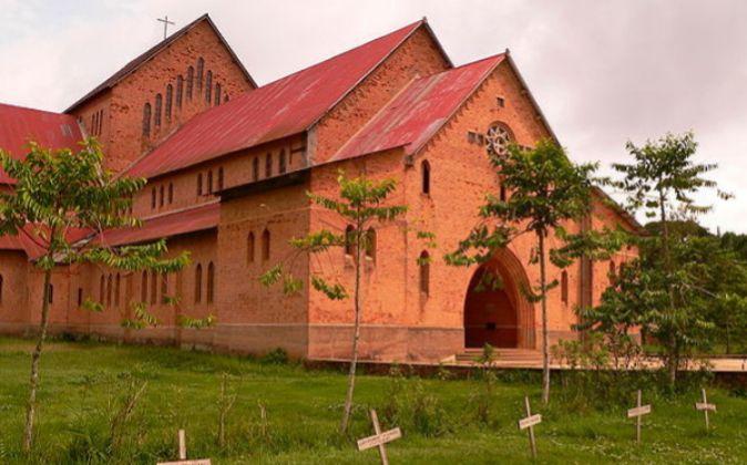 Iglesia en la República del Congo