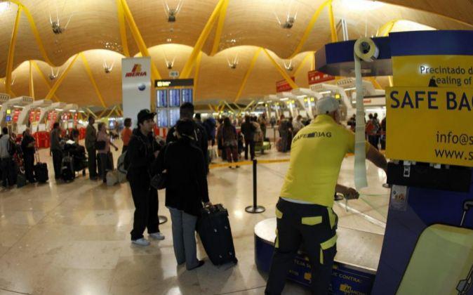 El Aeropuerto Adolfo Suárez Madrid-Barajas,