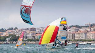 Marina Alabau (windsurf), Támara Echegoyen y Berta Betanzos (49er FX)...