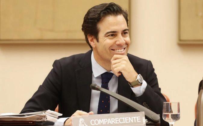 El presidente del Instituto de Crédito Oficial (ICO) Pablo Zalba...
