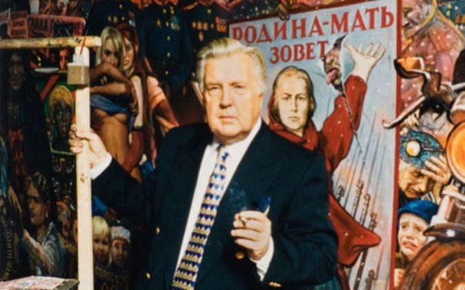 Iliá Glazunov, pintor ruso.