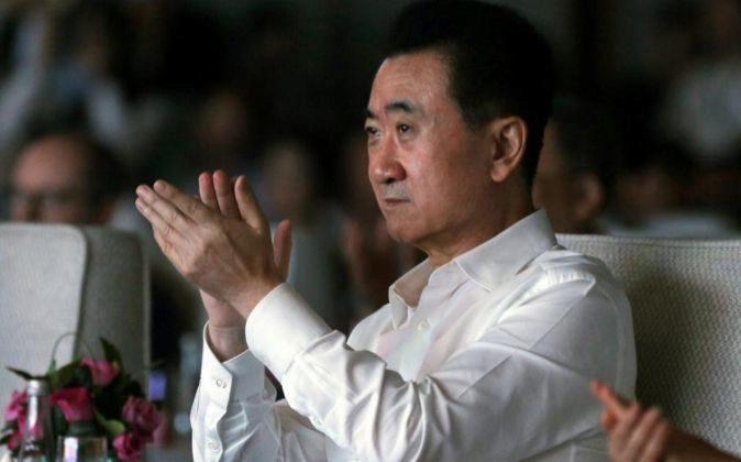 El presidente del conglomerado chino Wanda, Wang Jianlin.