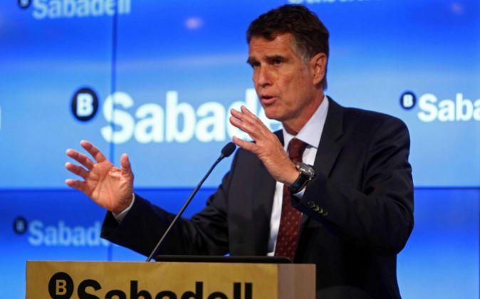 El consejero delegado de Banco Sabadell, Jaume Guardiola