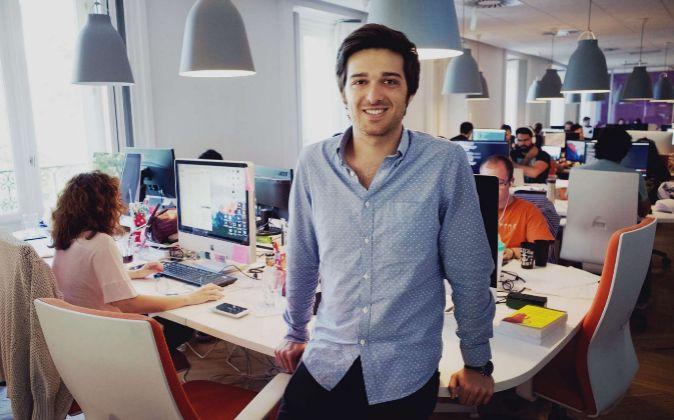 Ignacio Bachiller, CEO de Fever España, con parte del equipo de...