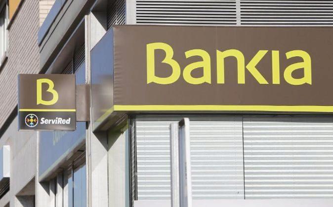 Oficina de Bankia en Madrid