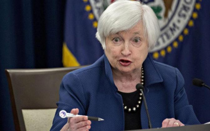 Janet Yellen está ahora al frente de la Fed.
