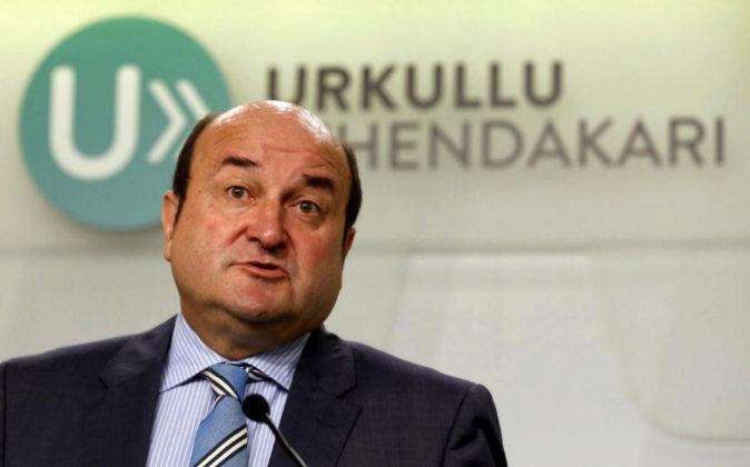 El presidente del PNV, Andoni Ortuzar en una imagen de archivo.
