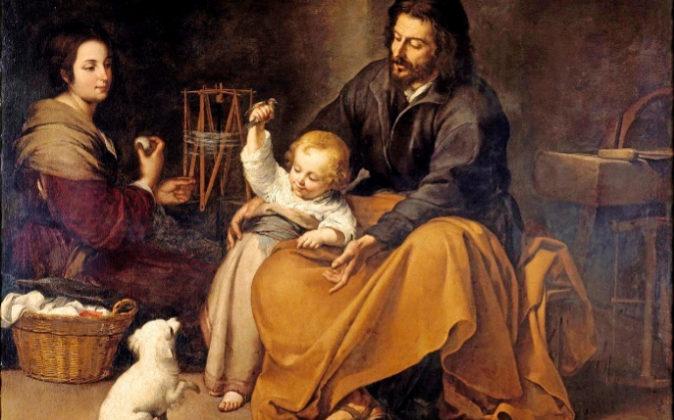 'Sagrada familia del pajarito' (hacia 1560).