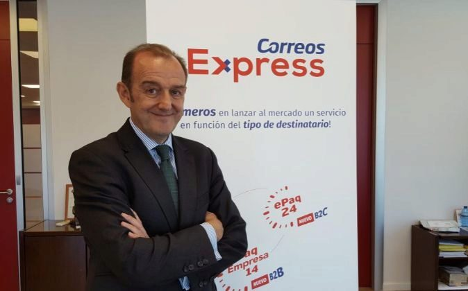 Manuel Molins, director general de Correos Express.