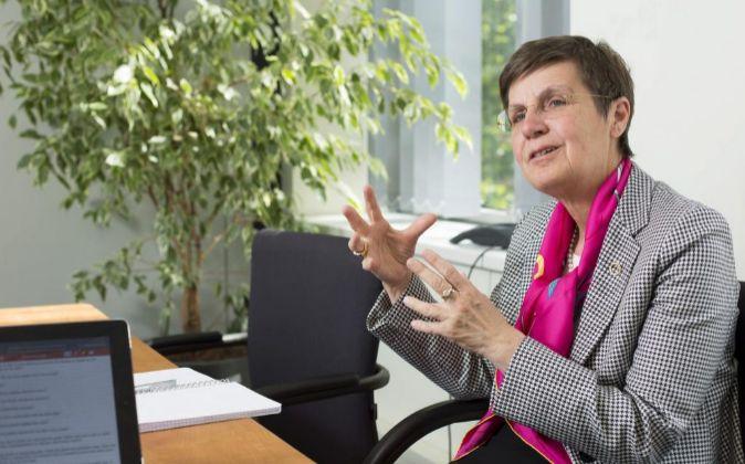 Elke König, presidenta de la JUR.