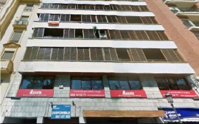Edificio en el que vivía la ex alcaldesa, en el centro de Valencia.
