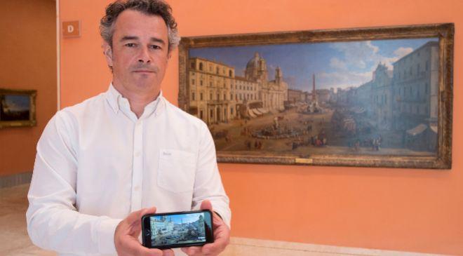 Javier Espadas, jefe de Tecnología del Museo Thyssen-Bornemisza