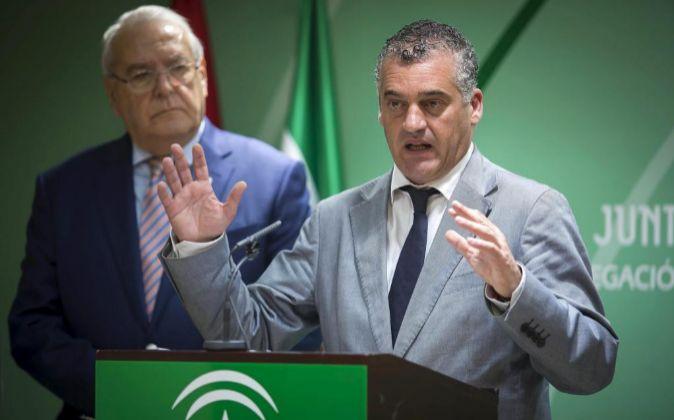 El consejero de Empleo, Javier Carnero, en una imagen reciente.