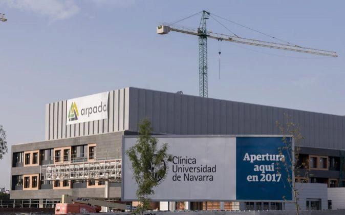 Obras de la Clínica Universitaria de Navarra en Madrid
