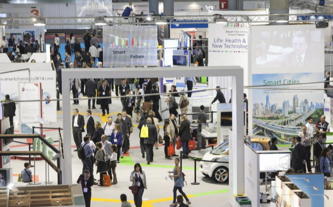 Imagen de la última edición del salón Expoquimia.