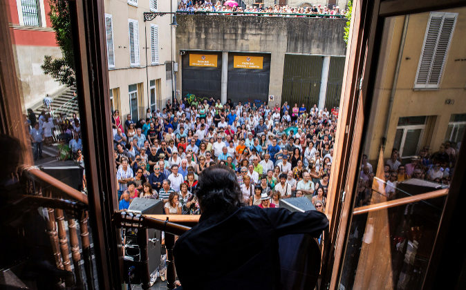 """""""Flamenco en los balcones"""" en su edición de 2016."""