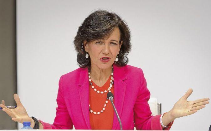 Ana Botín preside Banco Santander.