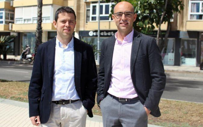 Álvaro y José de la Maza, fundadores de la consultora malagueña...