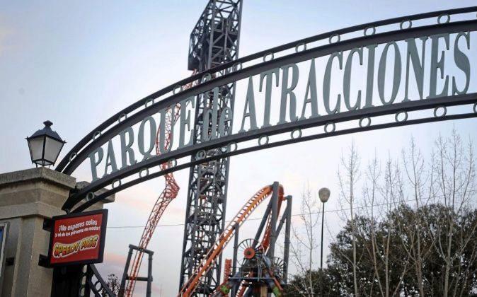 Parque atracciones en Madrid