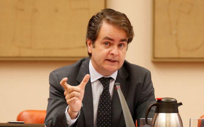 Roberto Bermúdez de Castro, secretario de Estado para las...