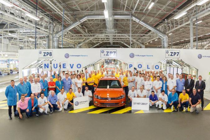 El primer Polo de la nueva generación producido en la fábrica