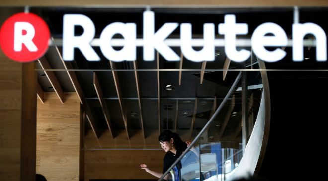 Inauguración del Rakuten Cafe en Tokio, Japón.