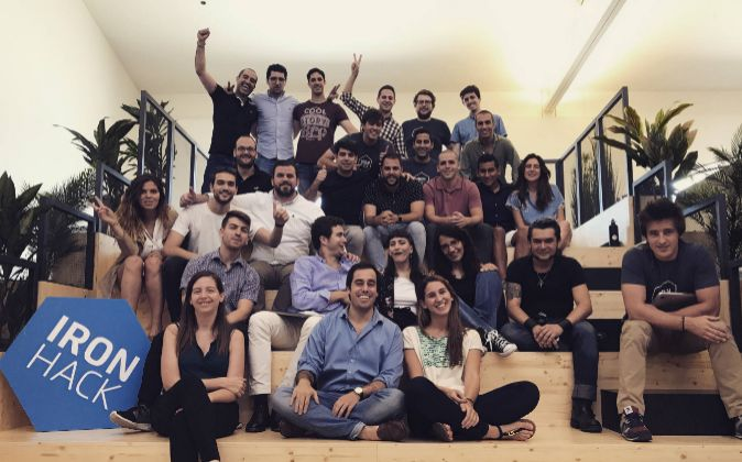 El equipo de Ironhack, empresa española especializada en...