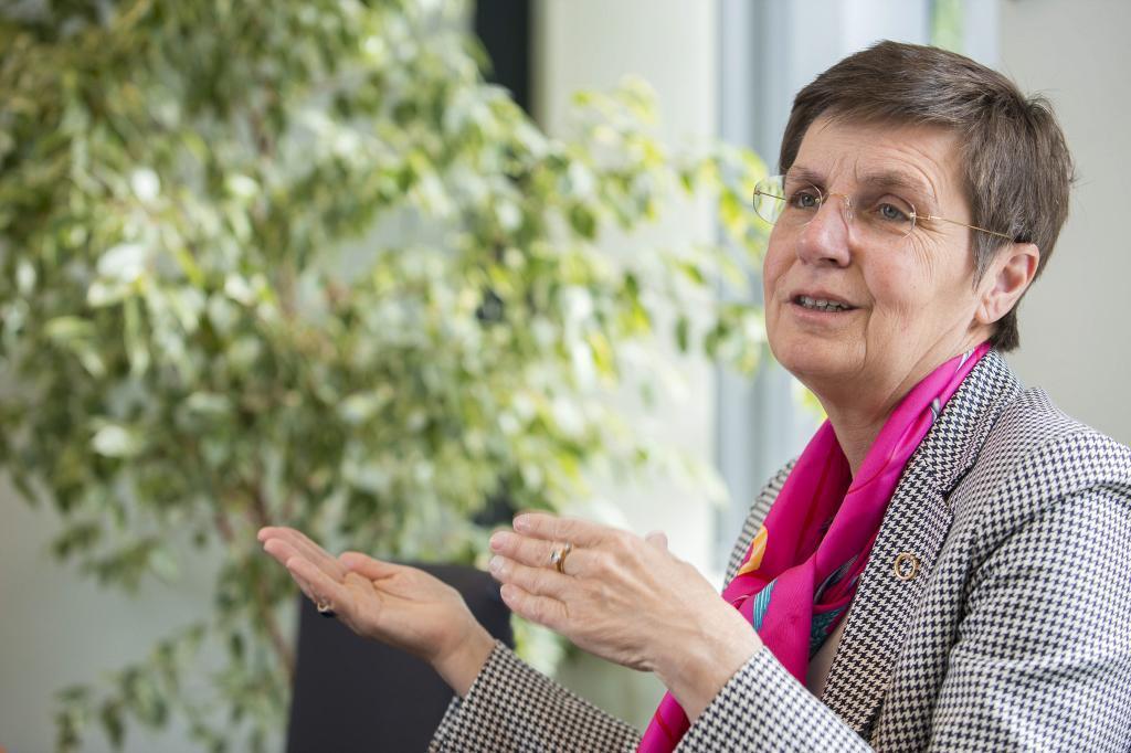 Elke Konig, presidenta de la JUR, en una foto de archivo durante una...