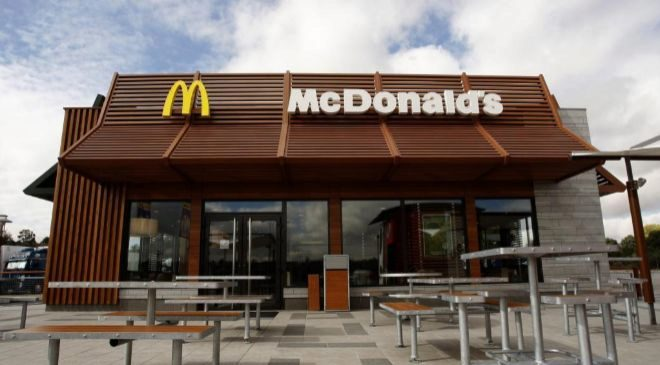 Establecimiento de McDonald's en España.