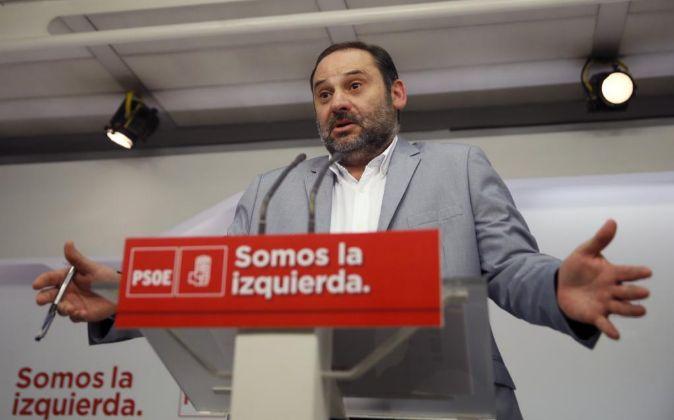 El secretario de Área de Organización, José Luis Ábalos.