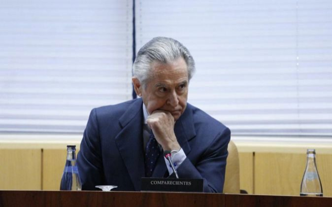 Comparecencia de Miguel Blesa en la Asamblea de Madrid.