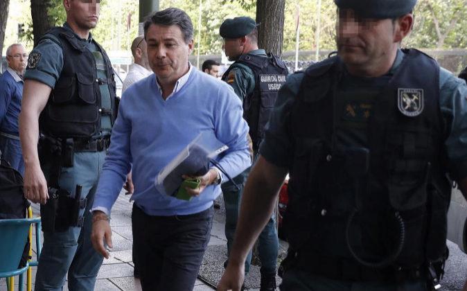 Imagen de archivo. El ex-presidente de la Comunidad de Madrid, Ignacio...