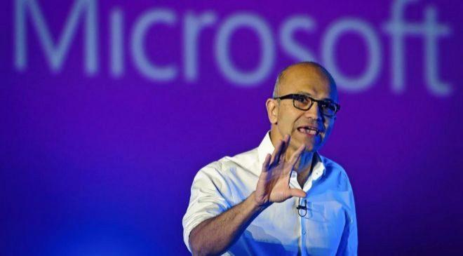 Satya Nadella, consejero delegado de Microsoft.