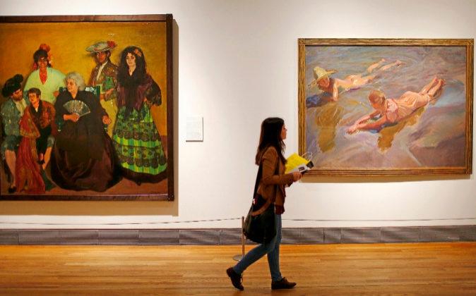 Exposición de la Spanish Society en el Museo del Prado.