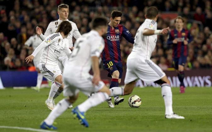 Imagen de archivo de uno de los encuentros disputados entre Real...