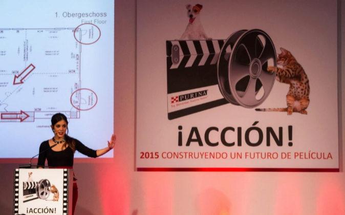 Imagen de un evento de temática cinematográfica, organizado por la...