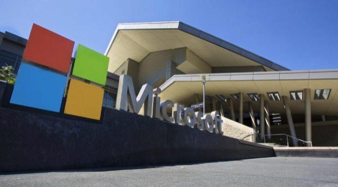 Sede de Microsoft en Redmond, Estados Unidos.
