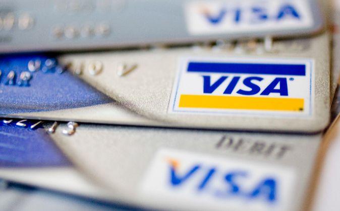 Tarjeta Visa.