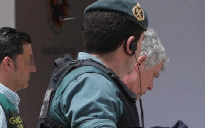 Angel María Villar, presidente de la RFEF el día de su detención.