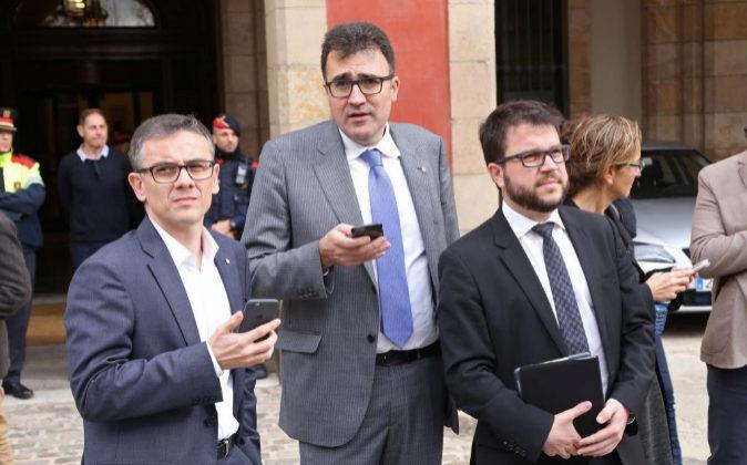 Lluis Salvado Y Pere Aragonès.