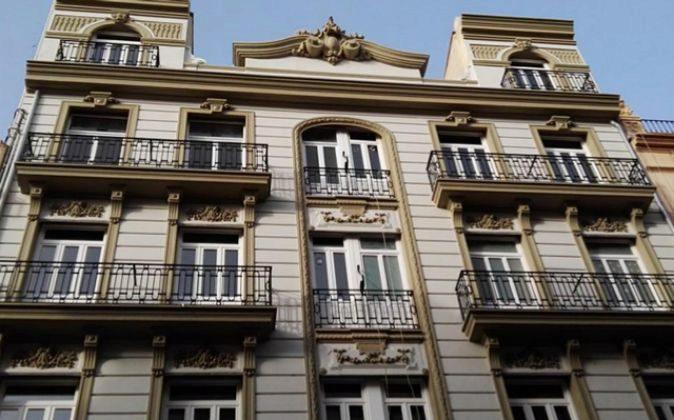 Edificio en la calle Cádiz, en el barrio de Ruzafa.