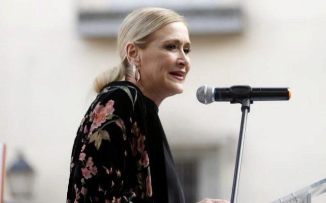 La presidenta de la Comunidad de Madrid Cristina Cifuentes.