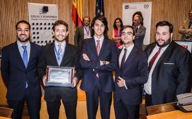Eloy Moreno, Antonio Méndez, Juan Romera, Pablo Camacho y Daniel...